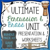 Ultimate Instrument Family Bundle #2- Brass and Percussion