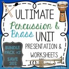 Ultimate Instrument Family Pack #2- Brass and Percussion