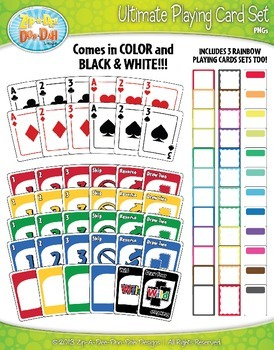 Ultimate Playing Card Clip Art Set — Includes 180 Graphics!