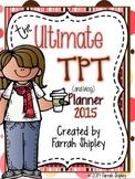 Ultimate TPT Planner--Chocolate Strawberries NEW AND IMPROVED