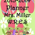 Ultimate Teacher Flip Flop 2013-2014 Planner - Everything