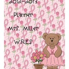 Ultimate Teacher Planner - Breast Cancer Theme