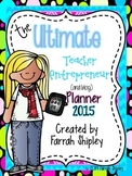 BEST SELLER***Ultimate TpT Planner Bahama Mama Theme