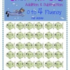 Under the Sea Addition & Subtraction 0 to 4 Fluency Game
