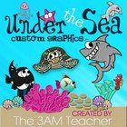 Under the Sea Clip Art Set