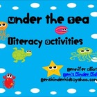 Under the Sea Literacy Activities