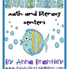 Under the Sea Math and Literacy Center Packet