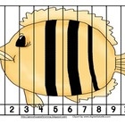 Under the Sea Ocean Number Order and Skip Counting Puzzles
