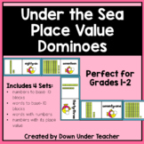 Under the Sea Place Value Tens and Ones Dominoes