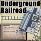 Underground Railroad Lapbook w/ foldables