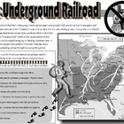 Underground Railroad Placemat