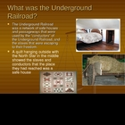 Underground Railroad Powerpoint Lesson