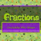 Understanding Fractions Primary Math Resource