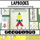 Understanding Fractions and Equivalent Fractions Lapbook {