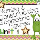 Understanding Geometric Figures! ~ Everyday Math Unit 1~ 4