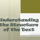 Understanding the Structure of the Text Reading Strategy P