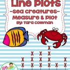 Underwater Line Plots (Common Core aligned)