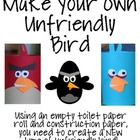 Unfriendly Bird Project--Make Your Own NEW Type of Unfrien
