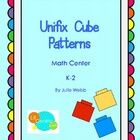 Unifix Cube Patterns Math Center