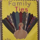 Unique Turkey Bulletin Board or Door Kit