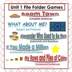 Unit 1 File Folder Games:  3rd Grade Reading Street
