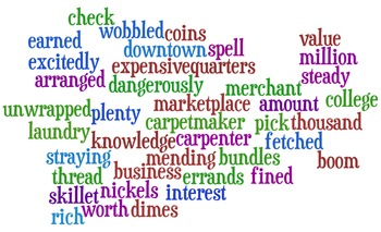 Unit 1 Vocabulary Wordle - Reading Street