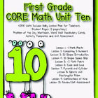 First Grade CORE Math Unit 10