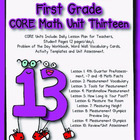 Unit 13 CORE Math for First Grade