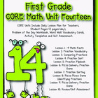Unit 14 Core Math Standards for First Grade