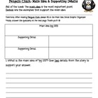 Unit 1.4 Penguin Chick Main Idea/Detail Chart-Treasures 3rd Grade