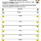 Unit 1.5 Perfect Pet Problem/Solution Chart-Treasures 3rd Grade