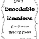 Unit 2 Decodable Readers Reading Street