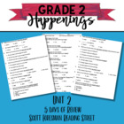 Unit 2 Review Reading Street Grade 2