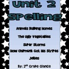 Unit 2 Spelling 2nd Grade