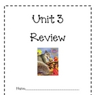 Unit 3 Review Packet for Macmillan/McGraw Hill Treasures (