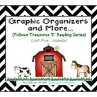 Unit 5 Graphic Organizers and More to Follow Treasures {Animals}