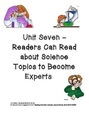 Unit 7- Readers Can Read About Science to Become Experts