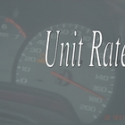 Unit Rates VIP