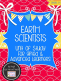 Unit of Study for Gifted Learners: Earth Scientists