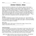 United States Atlas Project