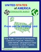 United States Geography Basics: Lessons, Worksheets, Puzzles