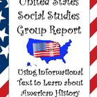 United States History Social Studies Group Project: Great