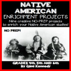 United States Native American Differentiated Project Menu