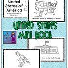 United States of America Mini Book