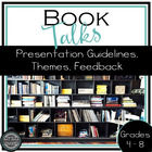 Up and Talking:  Book Talks for Middle and High School Students