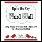 Up in the Sky Word Wall