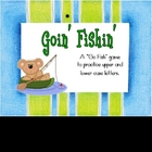 Upper &amp; Lowercase Letters - Goin&#039; Fishin&#039; Game