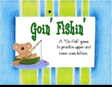 Upper & Lowercase Letters - Goin' Fishin' Game