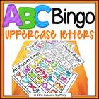 Uppercase Letters and Sounds Bingo