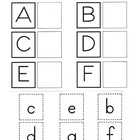 Uppercase and Lowercase Alphabet Matching